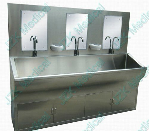 Medical Scrub Sink Station - Three Persons