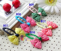 Детский аксессуар для волос 20Pcs/lot Girls/Baby Bouquet Hair clips Snap clips bow clips/Hair Accessories Many Designs
