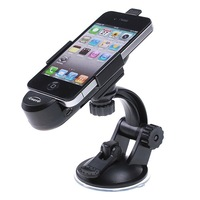 Держатель для мобильных телефонов Dual USB Port Car Mount Holder + Charger Kit for iPhone 4 iPhone's GPS, + Retail Box