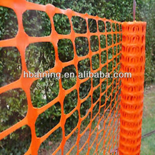 Orange en plastique barri re de s curit construction - Filet plastique jardin ...