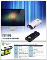 Android 4.0 Mini PC IPTV Google Internet TV Smart Android Box 1GB RAM 4GB ROM Allwinner A10 MK802 free shipping
