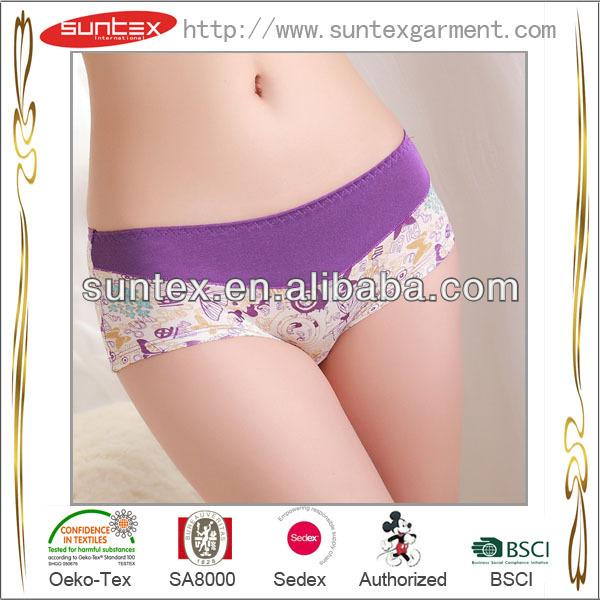 china manufacture hot underwear women 100 cotton underwear