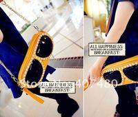 Wholesale retail day evening bag clutch shoulder bag  Handbag sling Lady Fashion sunglasses nightclub queen design multi color