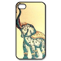 Чехол для для мобильных телефонов Elephant Teal Ombre Chevron Designer Case Verizon AT&T Sprint case for iPhone 5C