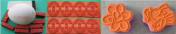 CO2 Laser Photopolymer Rubber Stamp Marking Machine