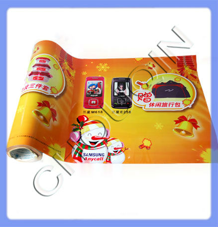 Best price standard scrap plastic film roll