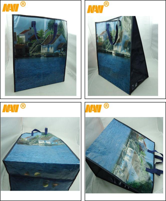 pp woven tote bag( NV-E088)