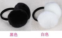 Ultralarge earmuffs high quality fox fur earmuffs fur ear package thermal plush earmuffs ear