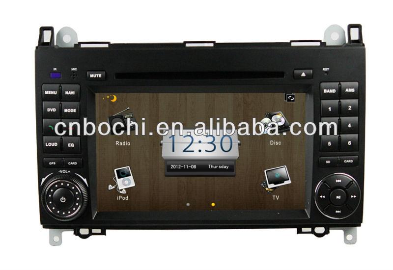 2013 hot sale High performance car dvd gps navigation for smart fortwo