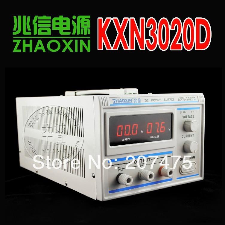 Купить Регулятор напряжения ZHAOXIN 3020D , 0/30v, 0/20 220 KXN-3020D с бесплатной доставкой