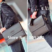 Портфель PJ Men's Faux Leather Briefcase Shoulder Messenger Business Bag BG111