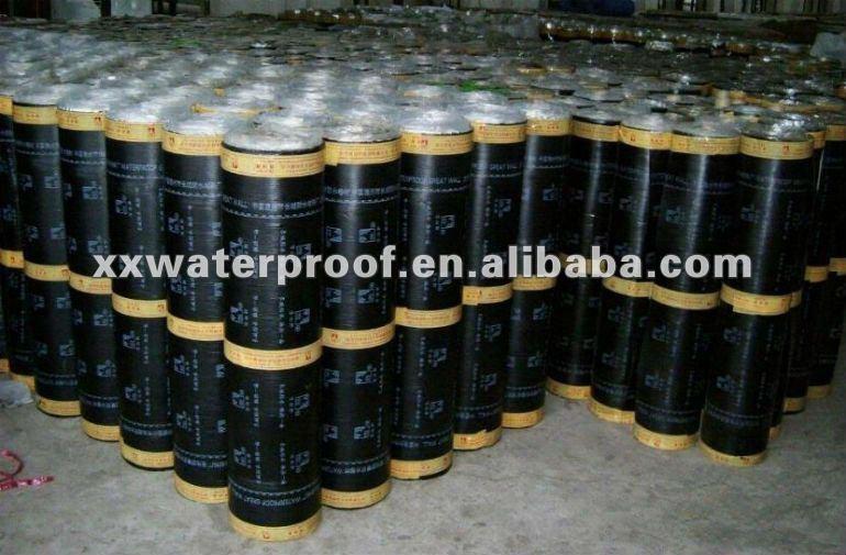 Bitumen waterproof roll