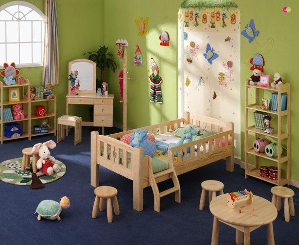 Mobili in legno moderna camera da letto ragazza mobili per bambini ...