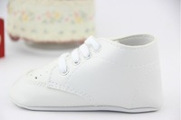 Пинетки Hot sale Pure White Baby Shoes Girls Toddler Soft Sole MOQ 1pair