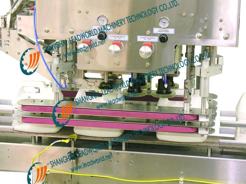 automatic liquid soap capper