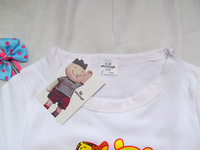 Футболка для девочки children's wear children's cartoon T Shirt Boy Girl Tigger T-shirt T 5pcs/lot