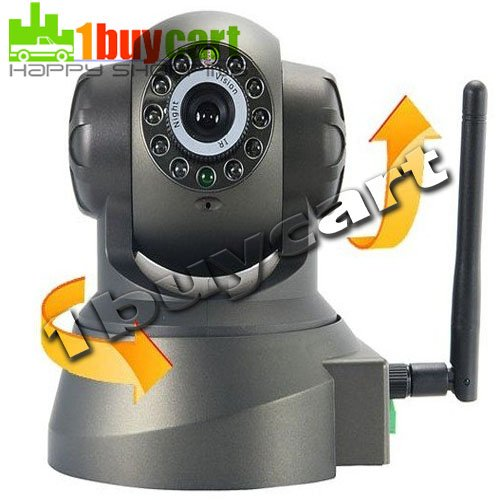 Nightvision IR Webcam Web CCTV Camera WiFi Wireless IP Camera, colorful retail box freeshipping,dropshipping