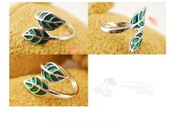 Кольцо R0221 Vintage jewelry South Korea leaves the ring A Rings for women