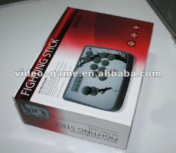 Para PC/Telefone/USB Do Console PS3 Arcada Luta Da Vara