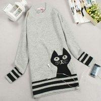 Женский пуловер long sleeve women sweater
