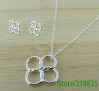 Ювелирные наборы браслет серьги ожерелья кольца модный