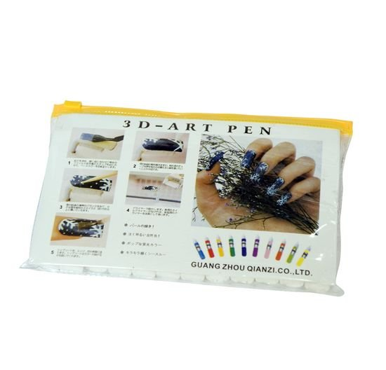 3D Paint Pen UV Gel Acrylic Nail Art Polish,  Nail Art Pen - Free Shipping