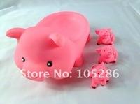 Детская игрушка для купания Bath toy Trial1set 4  Rubber pig