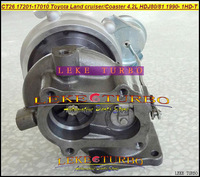 Запчасти для двигателя LEKE TURBO 17201/17010 CT26 TOYOTA LandcruiserTD/Coaster 4.2ld HDJ80/HDJ81 1990/2001 160HP 1HDT 1hd/ft CT26 17201-1701 LandcruiserTD/Coaster 4.2LD HDJ80/81 90-01
