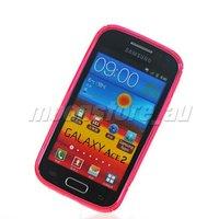 Чехол для для мобильных телефонов SOFT GEL S LINE TPU SILICONE CASE COVER FOR SAMSUNG I8160 GALAXY ACE 2