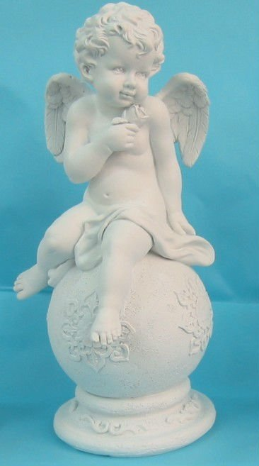 Polyresin Cupid figurine