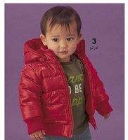 5pieces! Пальто детей красный и черный