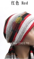 Женские шарфы, Шапки, Комплекты 2012 NEWEST Fashion hat and scarf, hat and scarf 2 pcs set, Many design and colors mix order, Factory price, A135