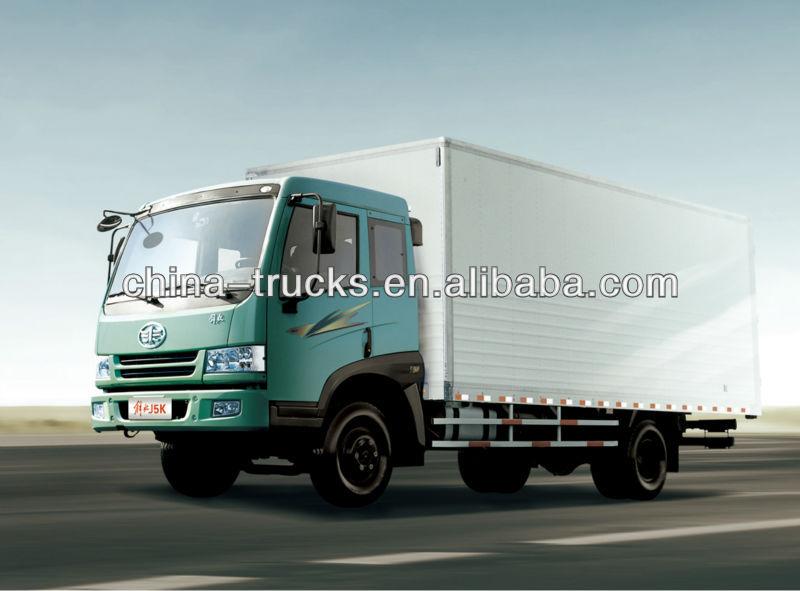 2T~10T Faw 4*2 Van Truck