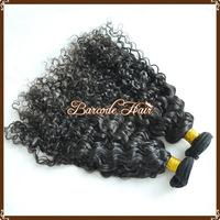 4A Natural Wavy Natural Color Malaysian Virgin Hair human hair curtain