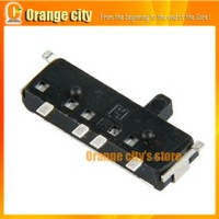 Free shipping on off Power Switch Repair Replacement for ds lite ndsl repair parts 100pcs/lot by DHL/EMS