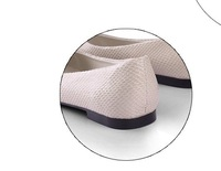 Женская обувь на плоской подошве hot sale new and easy stlye woman flat autumn beige shoes woman shoes