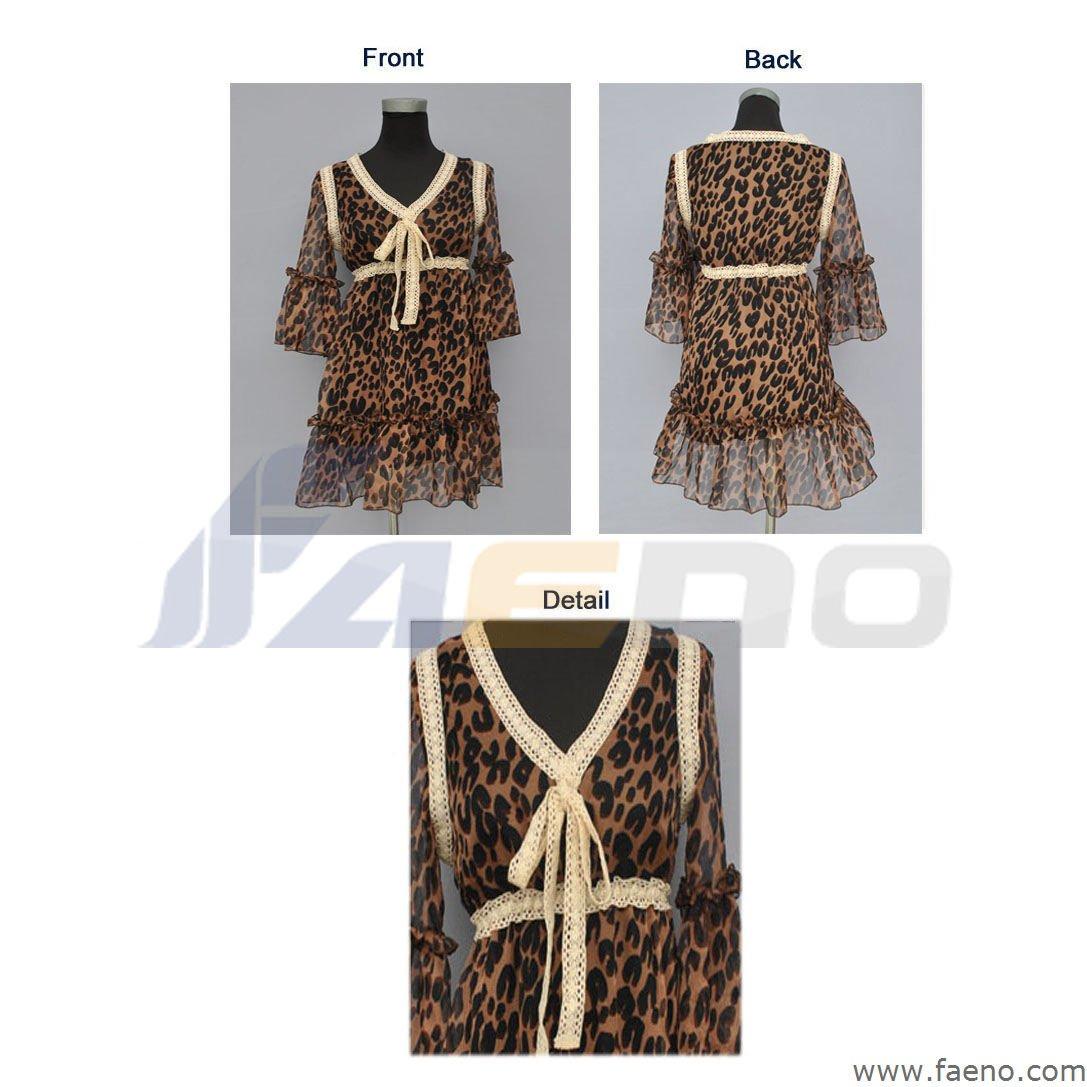 Ladies Casual Dress Item Num.: LWT-S55119 Payment: T/T, L/C