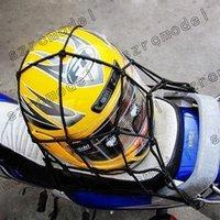 NEW GREEN Motorbike Motorcycle Cargo 6 Hooks Hold Down Net Bungee 13054