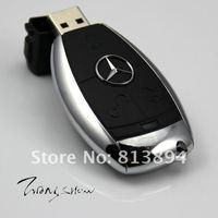 Plastic car key series USB drive flash memory from 2GB to 32GB