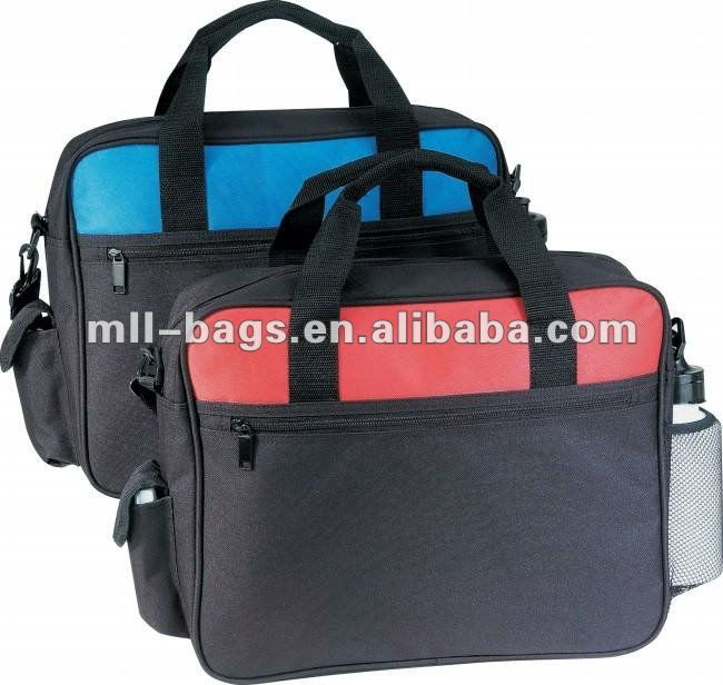2012 new design laptop bags with bottle
