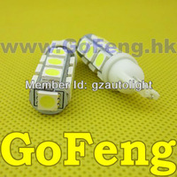 Источник света для авто Gofeng 50pcs/lot 168 194 W5W T10 13 led smd 5050 13smd HK post