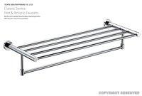 Держатель для полотенец Factory supplies] Brass Material Bathroom Towel Bar/ Bathroom accessories