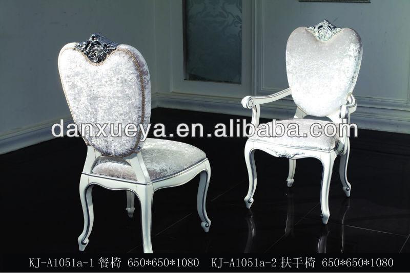 Français style Baroque à manger meubles de salle à manger table et ...