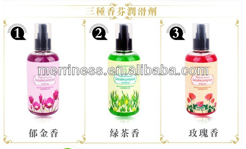 Free Shipping Female Anal Sex Lubricant Oil Massage Personal Oil 200ML Fun Non-toxic Can Edible rose-scented