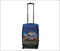 women men new 2013 England style polychrome printing Oxford cloth spinner luggage sets luggages suitcase rolling luggage