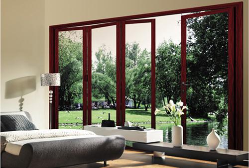 economico esterno lowes vetro alluminio porta pieghevole prezzo ...