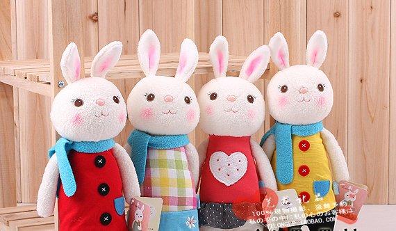 Игрушки кролики своими руками фото