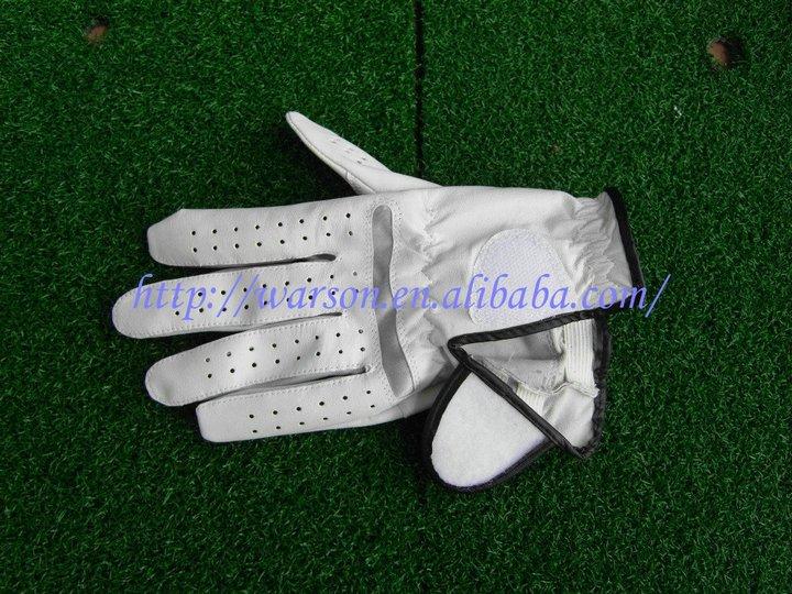 mens sheepskin golf glove