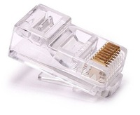 100 RJ45 RJ-45 CAT5 Modular Plug Network Connector free shipping