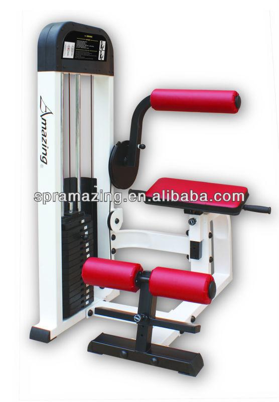 AMA-315 máquina de extensão de volta, equipamento profissional de fitness comercial (tamanho da tubulação: 100 * 50 * 3.0)